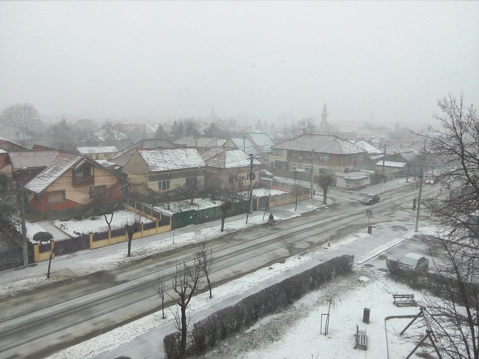 Avertizare meteo: Vânt puternic în aproape toată țara şi ninsori la munte