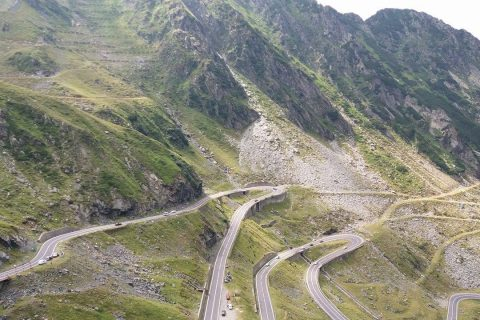 Transfăgărășanul a fost inclus într-un traseu turistic pe bicicletă