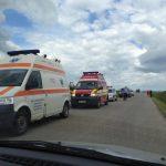 Patru persoane rănite în urma unui accident produs pe DN1, la Ucea de Jos