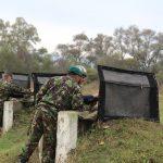 Trageri cu armamentul de infanterie în Poligonul din Galați