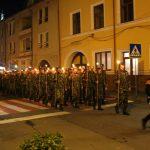 Ceremonie militară și retragere cu torțe, de Ziua Armatei României, la Făgăraș