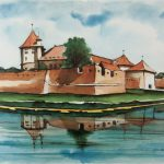 Iubitorii de artă, invitați la vernisajul expoziției, semnată de arhitectul Gheorghe Leahu