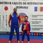 Karatist făgărășean la Campionatul Balcanic de Copii