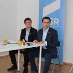 USR și-a deschis cabinet parlamentar în Făgăraș!