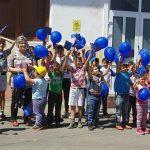 Bucurie, joacă, concurs și premii la Beclean, de Ziua Copilului