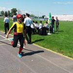 Pompierii profesioniști, în concurs pe stadionul din Făgăraș