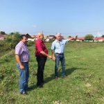 Diguri de apărare împotriva inundațiilor la Comăna