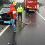 Două TIR-uri și un autoturism, implicate în accidentul de la Perșani