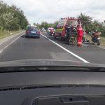 FOTO. Accident pe DN1, între Viștea de Jos și Ucea de Jos