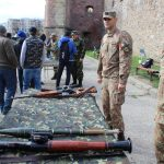 Concurs de trageri în poligon, ceremonial religios, defilare și retragere cu torțe, de Ziua Armatei României