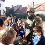 """Tehnică și echipamente militare, la Colegiul Național """"Doamna Stanca"""""""