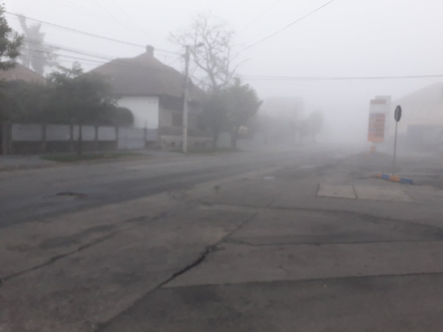 Cod galben de ceață și în zona noastră. Este posibil să apară chiciura și fulguieli