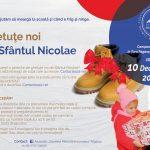 """""""Ghetuțe noi de Sfântul Nicolae"""", pentru copiii Țării Făgărașului. Și tu poți fi mesagerul moșului!"""