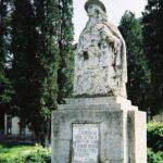 Depunere de coroane la statuia lui Badea Cârțan