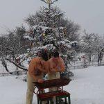 Tradiții de Bobotează, în Pojorta