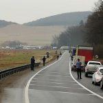 Încă un accident pe DN1, între Codlea și Vlădeni. O victimă, transportată la spital