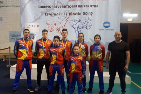 Făgărășenii, campioni și vicecampioni naționali