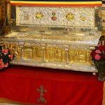 Raclă cu Sfinte Moaște și Maslu, la Biserica Adormirea Maicii Domnului din Făgăraș