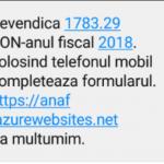 Avertizare de la ANAF: Nu accesaţi acest site!