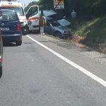 Accident pe DN1, la Sâmbăta de Jos
