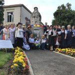 Statuia lui Badea Cârțan, țăranul care a însămânțat Unirea, și-a recăpătat strălucirea