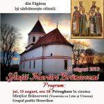 """Biserica brâncovenească """"Sf. Nicolae"""" din Făgăraș își sărbătorește ctitorii"""
