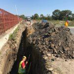 Au început lucrările pentru extinderea canalizării în Făgăraș