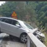 S-a sinucis după ce a intrat cu mașina într-un parapet de pe Transfăgărășan