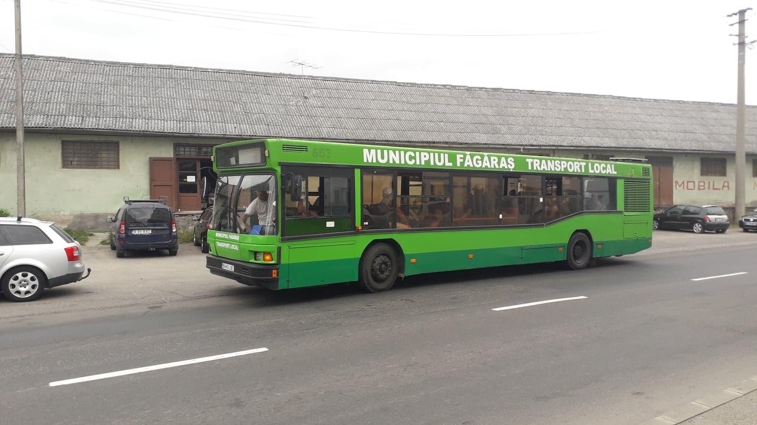 Primăria Făgăraș a scos la concurs funcția de controlor bilete din cadrul Serviciului de Transport Public Local