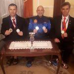 Veteranii karate-ului făgărășean, pe podium la un campionat internațional din Slovenia