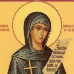 Creștinii o sărbătoresc pe 14 octombrie pe Sfânta Cuvioasă Parascheva