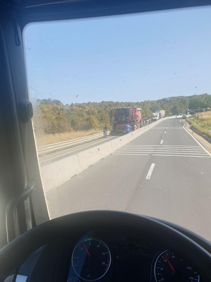 trafic blocat