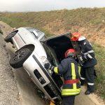 Accident pe DN1, la ieșire din Vladeni spre Făgăraș