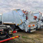 Primăria a cumpărat autospeciale noi pentru gestionarea deșeurilor
