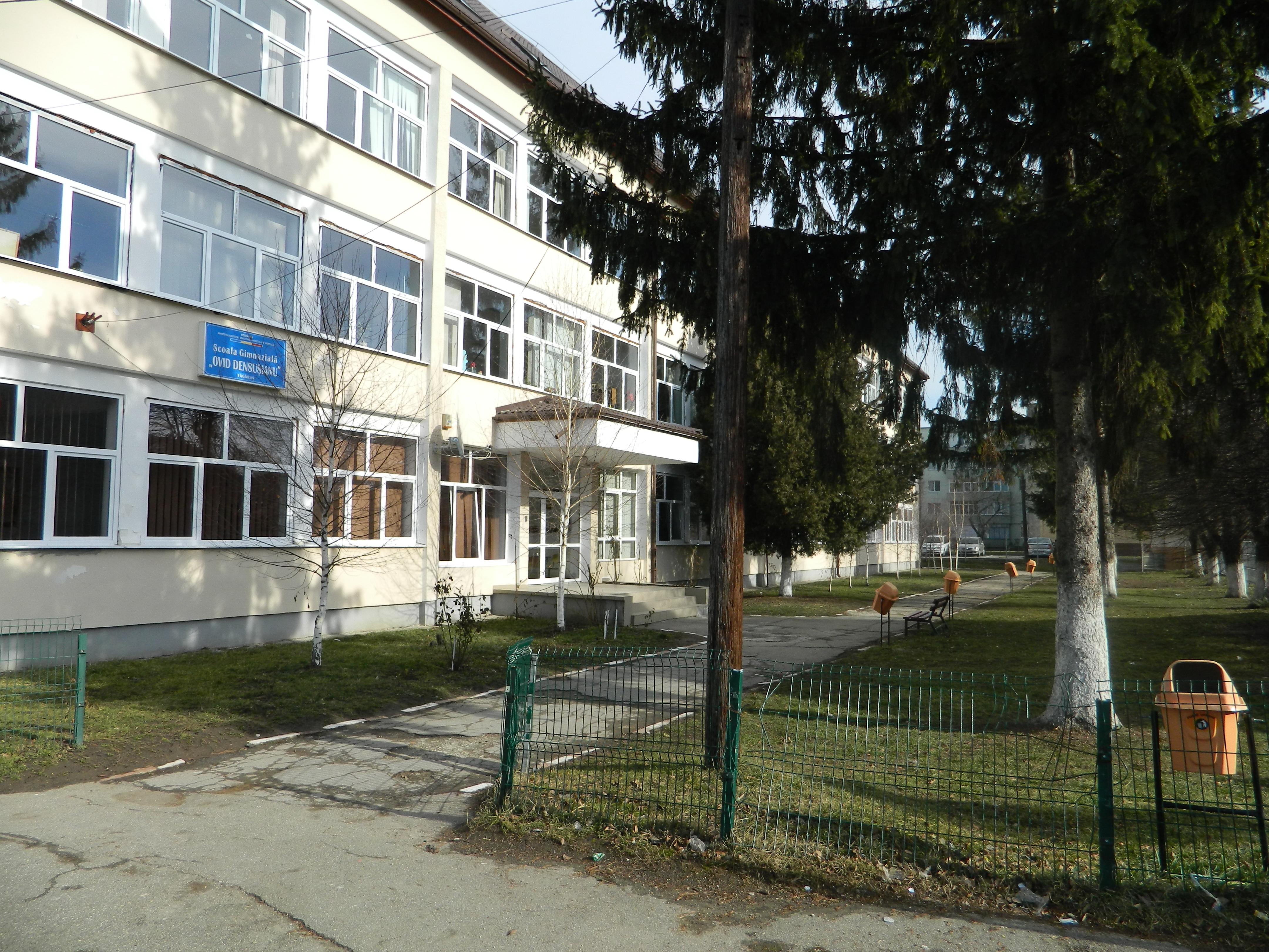 """Școala Gimnazială """"Ovid Densusianu"""" din Făgăraş angajează agent de pază"""