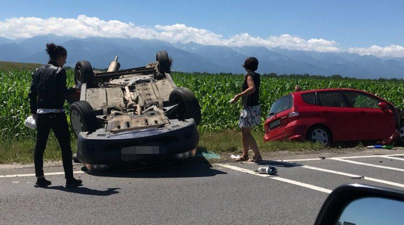 Accident rutier pe DN1, la ieșire din Dridif spre Voila