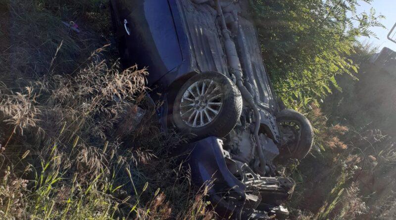 Șoferul care s-a răsturnat cu mașina la Hurez era sub influența băuturilor alcoolice