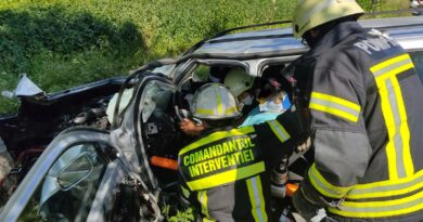 Două victime în urma accidentului rutier dintre Comăna și Cuciulata