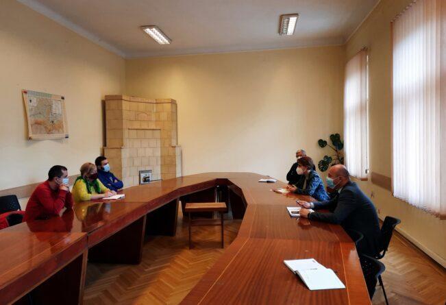 ședință Prefectură