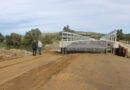 Construcția noului pod de la Hălmeag este pe ultima sută de metri