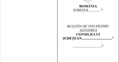 Buletine de vot găsite ieri la școala din Bărcut. Oamenii legii fac cercetări