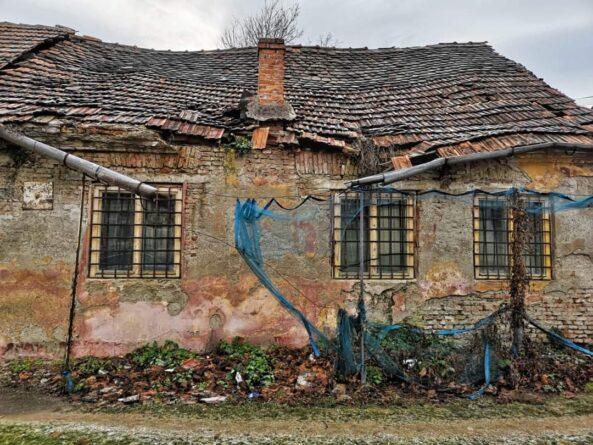 clădire paragină, Făgăraș
