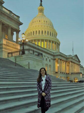 Andreea Calbeaza_Capitoliul Statelor Unite