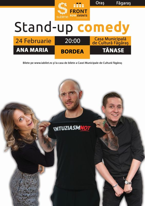 STAND UP FAGARAS
