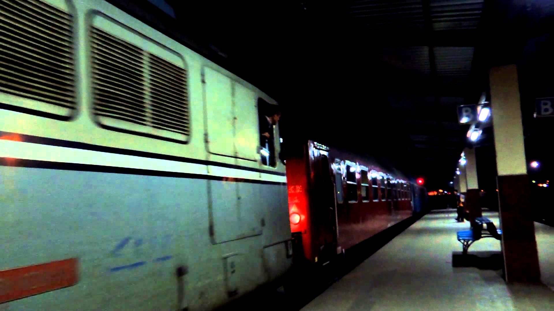 gara noaptea