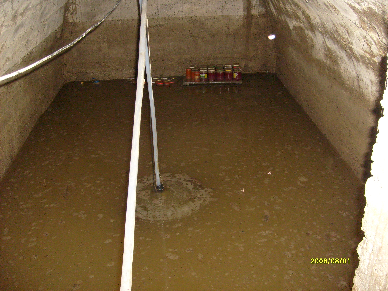 beci inundat