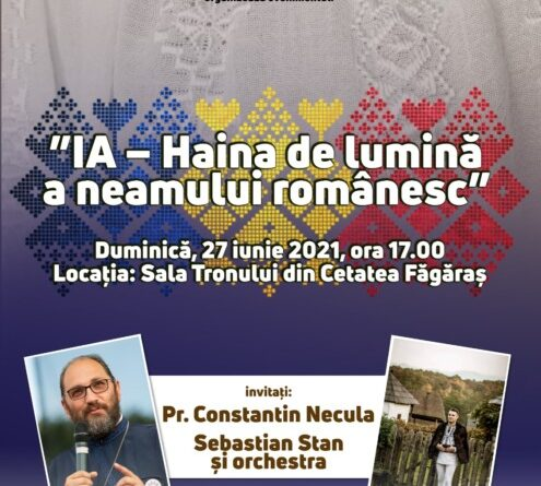 Eveniment dedicat IEI românești la Făgăraș alături de pr. Constantin Necula și Sebastian Stan & orchestra
